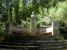 Monumento ao poeta Freiligrath Imagens de Stock Royalty Free