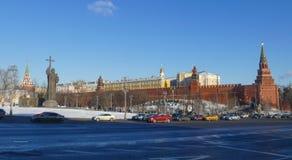 Monumento ao príncipe Vladimir no Kremlin Imagem de Stock