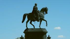 Monumento ao rei John de Saxony Fotografia de Stock