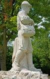 Monumento ao soldado alpino foto de stock