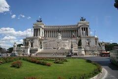 Monumento ao vencedor Emanuel II fotografia de stock