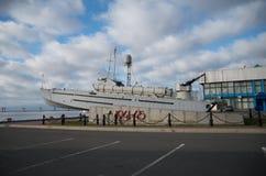 Monumento aos barcos do trpednyh dos marinheiros imagens de stock