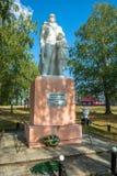 Monumento aos compatriotas do soldado-companheiro que morreram na grande pancadinha fotos de stock royalty free