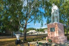 Monumento aos compatriotas do soldado-companheiro que morreram na grande pancadinha fotografia de stock royalty free
