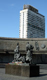 Monumento aos defensores de Leninegrado Fotografia de Stock Royalty Free