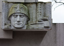 Monumento aos heróis da segunda guerra mundial Imagem de Stock Royalty Free