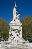 Monumento aos Mortos da重创的Guerra 库存照片