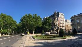Monumento aos Mortos da重创的Guerra 库存图片