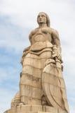 Monumento aos Mortos da I stora Guerra Maputo Mocambique Royaltyfri Fotografi