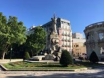 Monumento aos Mortos da stora Guerra Royaltyfria Bilder