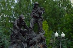 Monumento aos salvadores imagem de stock