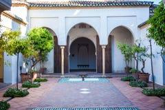 Monumento arabo da andaluso spagna Fotografia Stock