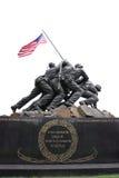 Monumento Arlington de los infantes de marina Foto de archivo