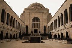 Monumento australiano de la GUERRA Imagen de archivo libre de regalías