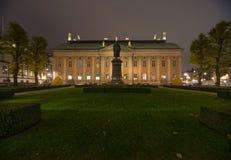 Monumento Axel Oxenstierna Estocolmo suecia 05 11 2015 Imágenes de archivo libres de regalías