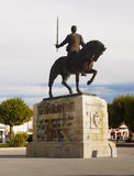 Monumento Batalha, Nuno Alvares Pereira, Portugal Imagens de Stock