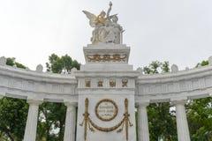 Monumento a Benito Juarez - Città del Messico immagine stock