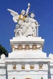 Monumento a Benito Juarez en la central de Ciudad de México Alameda imagen de archivo