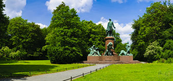 Monumento Berlín de Bismarck Imagen de archivo libre de regalías