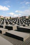 Monumento Berlim Alemanha do holocausto foto de stock