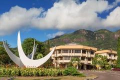Monumento bicentenario, Victoria Seychelles, Seychelles imágenes de archivo libres de regalías