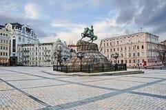 Monumento a Bogdan Khmelnitsky Foto de Stock Royalty Free
