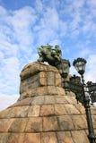 Monumento a Bogdan Khmelnitsky Immagine Stock