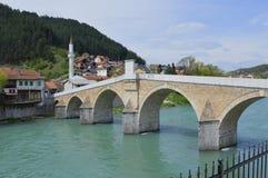 Monumento bosnio Imágenes de archivo libres de regalías