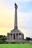 Monumento Bratislava de Slavin Imagen de archivo