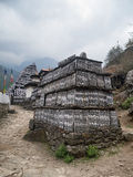 Monumento budista en el Himalaya Fotografía de archivo