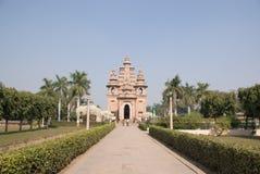 Monumento budista en Sarnat fotografía de archivo