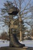 Monumento caido del soldado Imagenes de archivo
