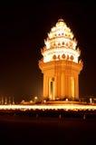 Monumento Cambodia Foto de Stock Royalty Free