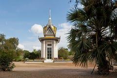 Monumento Camboya de Choeung Ek Foto de archivo libre de regalías