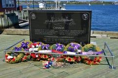 : Monumento canadiense de Navy del comerciante Fotos de archivo libres de regalías