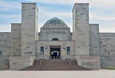 Monumento Canberra de la guerra Imagenes de archivo