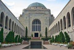 Monumento Canberra de la guerra Imagen de archivo