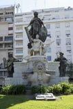 Monumento a Carlos Pellegrini em Buenos Aires Foto de Stock