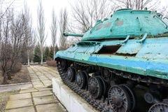 Monumento-carro armato IS-3M Fotografia Stock
