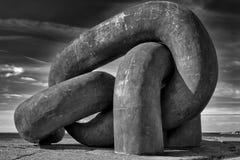 Monumento a catena rotto in B immagine stock libera da diritti