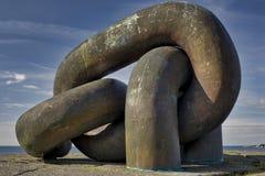Monumento chain rotto fotografia stock libera da diritti