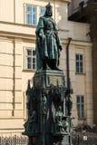 Monumento a Charles IV Fotos de Stock Royalty Free