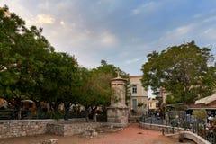 Monumento Choragic de Lysicrates en Atenas imagen de archivo libre de regalías