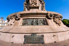 Monumento a Christopher Columbus - Barcelona Foto de Stock