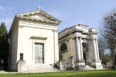 Monumento in cimitero Immagine Stock