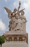 Monumento Ciudad de México de Benito Juarez Foto de archivo libre de regalías