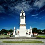 Monumento Clocktower del abedul Imagenes de archivo