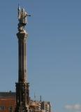Monumento a Columb en Madrid. España Imágenes de archivo libres de regalías