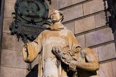 Monumento a Columbo em Barcelona na Espanha Imagens de Stock Royalty Free