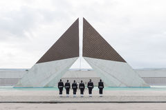 Monumento Combatentes Ultramar, Lisbonne Photos stock